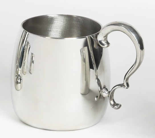 Pewter Moscow Mule with Handle