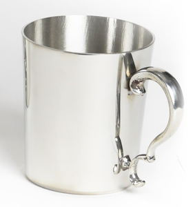 "Straight Side 16 oz. Tankard - Item #193 - 4 1/4"" tall, 3 1/2"" wide"