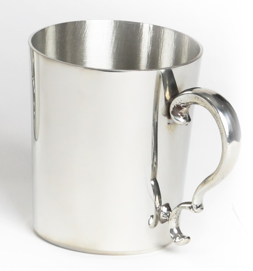 Pewter Straight Side  Tankard