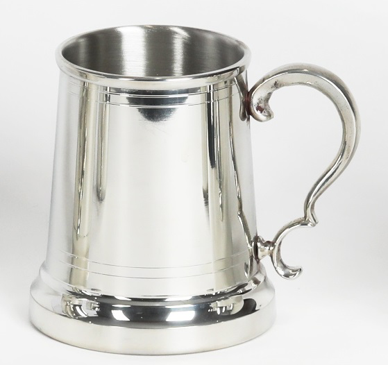 Pewter Virginia Tankard -