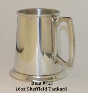 Sheffield Tankard 16oz