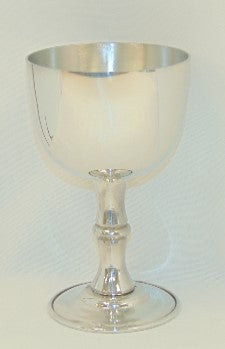 Pewter Jefferson Goblet
