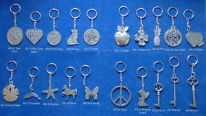 Pewter Key Rings