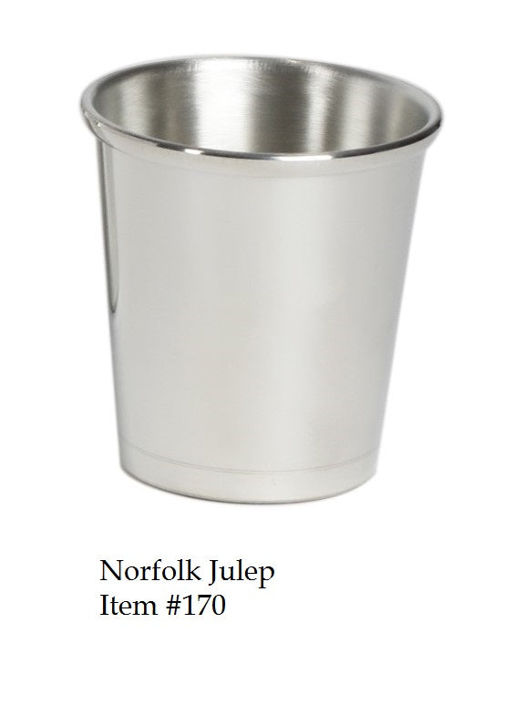 Norfolk 10 oz. Julep Cup - Item #170 - 3 1/2