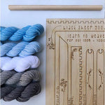 DIY Tapestry Weaving Kit - Cloud-The Craftivist Atlanta
