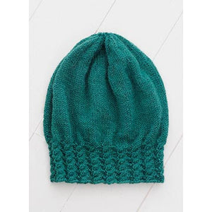 Cabled Slouch Hat Pattern-The Craftivist Atlanta