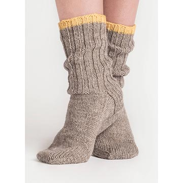 Sanborn Socks Pattern-The Craftivist Atlanta