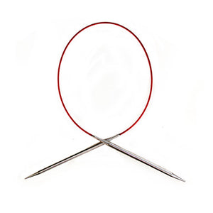 "ChiaoGoo 9"" Red Circular Needles"