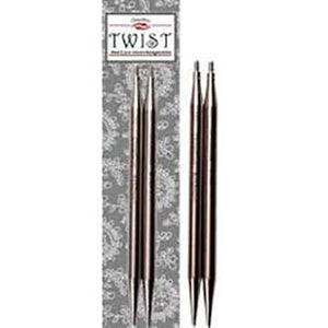 "ChiaoGoo Twist 4"" metal tips for knitting"