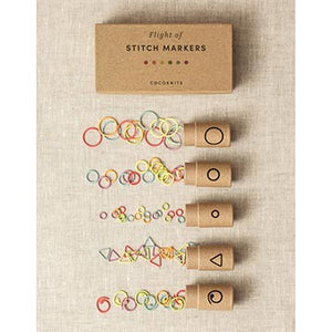 Cocoknits Flight of Stitch Markers-The Craftivist Atlanta