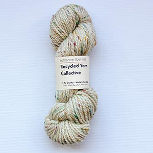 Echoview Recycled Yarn Collective-Creamy White-The Craftivist Atlanta