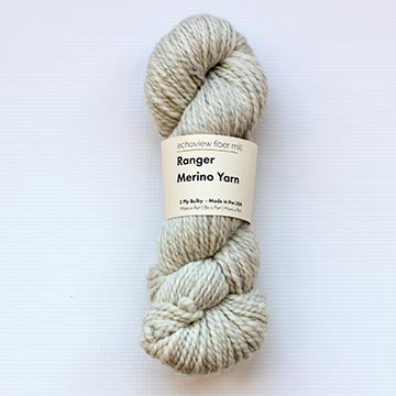 skein of Echoview Ranger Bulky yarn in Chickadee