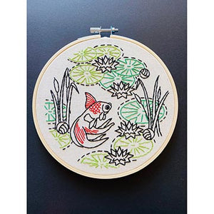 Koi Embroidery Kit
