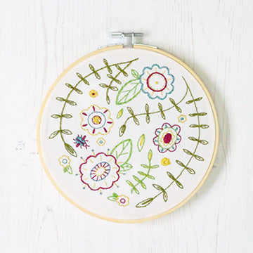 Spring Posy Embroidery Kit