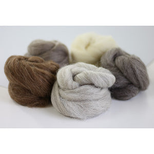 British Breeds Weaving Wool Bundle