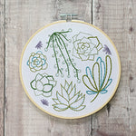 Succulent Embroidery Kit