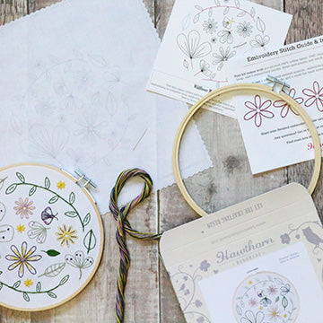 Wildflower Embroidery Kit