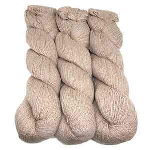 alpaca and organic cotton yarn