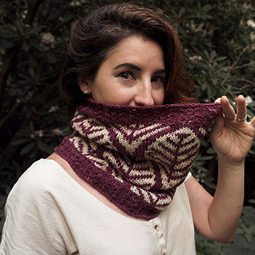 Foliole Cowl by Christina Danaee-The Craftivist Atlanta