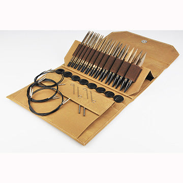 "Lykke Umber 5"" Interchangeable Circular Needle Set"