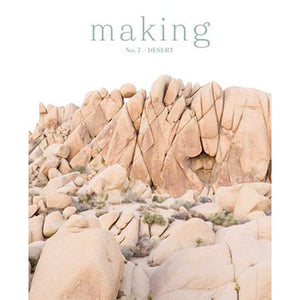 Making No. 7 / Desert-The Craftivist Atlanta