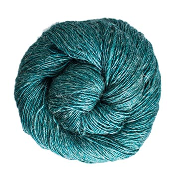 Malabrigo Susurro-Teal Feather-The Craftivist Atlanta