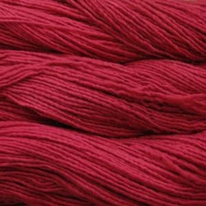 malabrigo worsted yarn in ravelry red