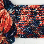 Malabrigo Rasta Pintada in Camp Fire