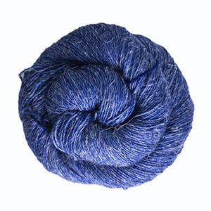 Malabrigo Susurro-Matisse Blue-The Craftivist Atlanta