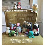 Susan B. Anderson's Magnificent Menagerie Traveling Trunk Show