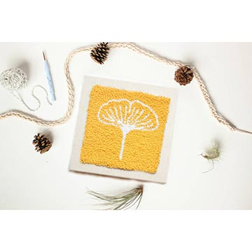 The Punch Box - Gingko Yellow-The Craftivist Atlanta