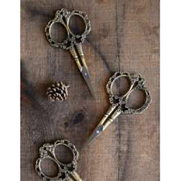 Victorian Scrollwork Scissors-The Craftivist Atlanta