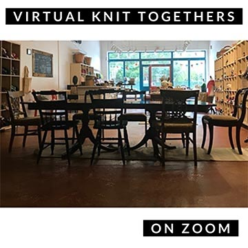 Virtual Knit Togethers on Zoom