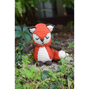 Woodland Fox Pattern