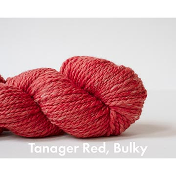 Echoview Ranger Merino bulky yarn in Tanager Red