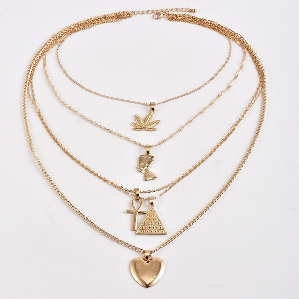 Vintage Multilayer Necklace