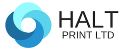HALT Print logo personalised printed gifts and clothing