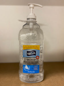Wish Hand Sanitizer Moisturizer Gel with Vitamin E  Case of 6