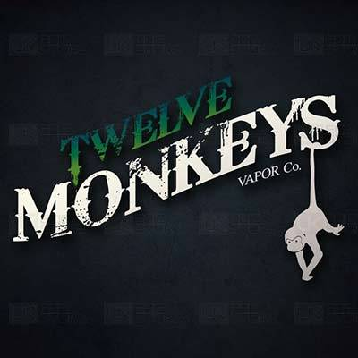 12 Monkeys 50ml 0mg E-Liquid-Vape Citi
