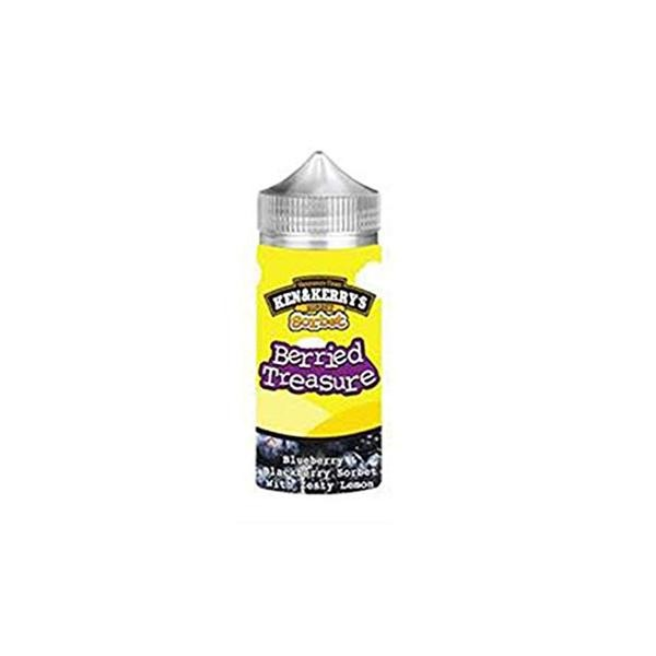 Ken & Kerry's - 120ml 0mg E-Liquid