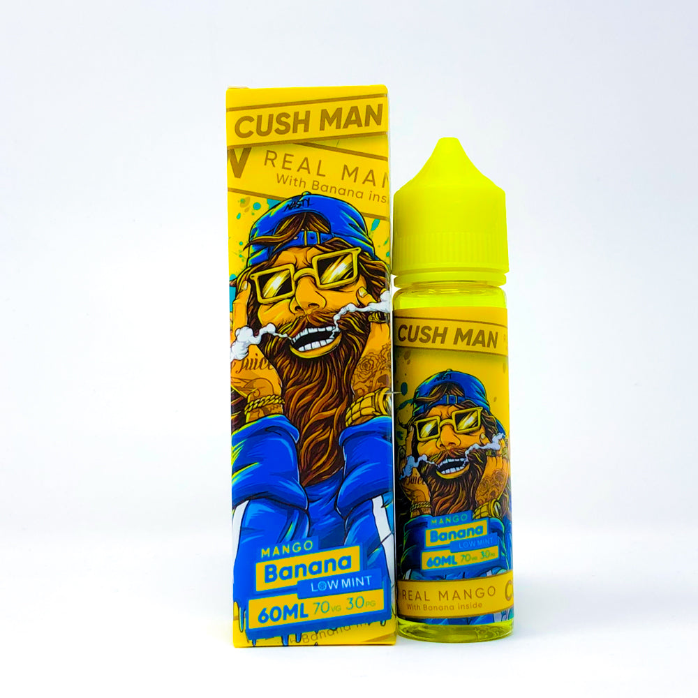 Nasty Juice - Cush Man - Mango Banana 60ml E-Liquid-Vape Citi