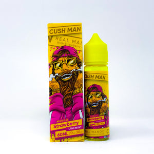 Nasty Juice - Cush Man - Mango Strawberry 60ml E-Liquid-Vape Citi