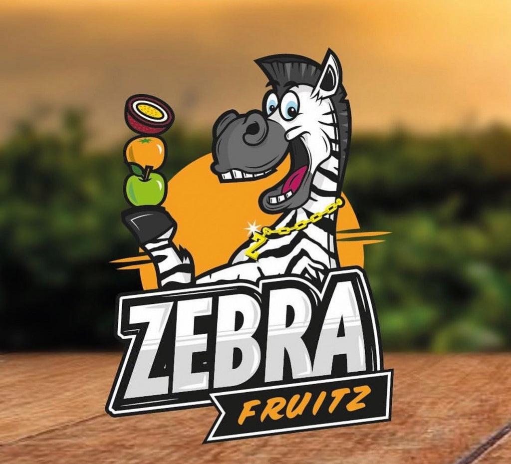 Zebra Fruitz - 50ml - 0mg