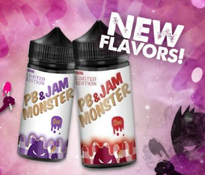 PB & Jam Monster - 100ml - 0mg-Vape Citi
