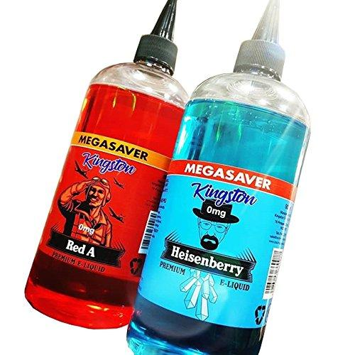Kingston Mega Saver - 500ml - 0mg E-Liquid