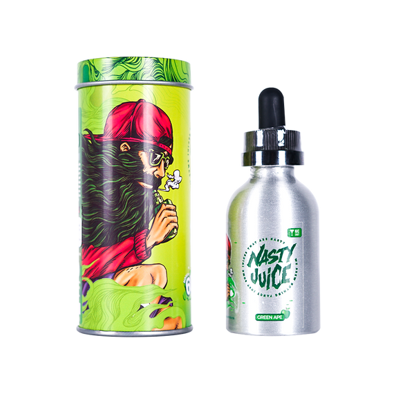 Nasty Juice - Shortfill - Green Ape - 50ml-Vape Citi