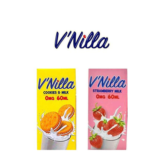 V'Nilla 60ml- 0mg-Vape Citi