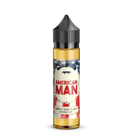 American Man - Roasted Peanut & Oats Granola Bar - Vape Citi