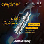 ASPIRE K1 Plus - Vape Citi