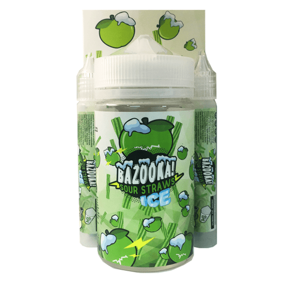 BAZOOKA Sour Straws - 200ml